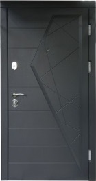 Входные двери «Стандарт Айсберг » (графит) тм Форт Нокс