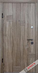 Входная дверь  «Inkanta» (дуб сантана) Zimen™