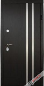 Входная дверь  «Parallel» (венге темный) Zimen™