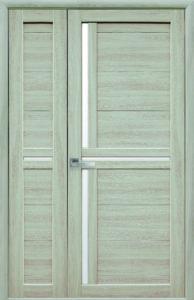 Межкомнатная дверь «Тринити» двустворчатая тм. Новый Стиль