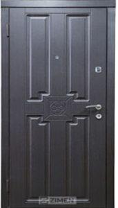 Входная дверь  «Квадро» (венге) Zimen™