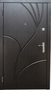 Входная дверь  «Лилия» (венге) Zimen™