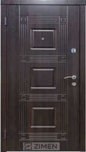 Входная дверь  «Министр» (орех темн.) Zimen™