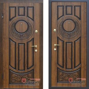 Входная дверь «179 Luck» Vinorit Дуб золотой + патина ™ Abwehr