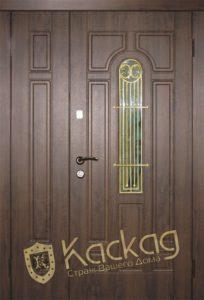 Входная дверь » Лучия» стекло-ковка полуторная
