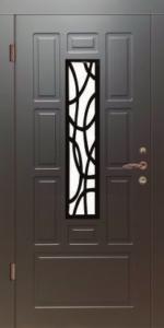 Модель с ковкой и стеклом, серия Элегант